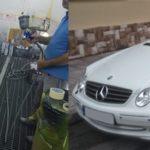 Αλλαγή χρώματος Mercedes