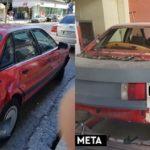 Επισκευή Audi 80 - ολική βαφή